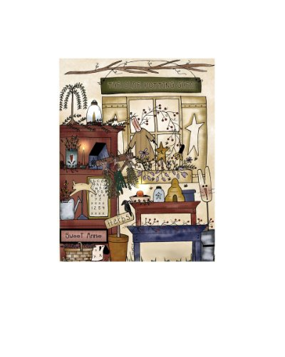 Ohio Wholesale Radiance Lighted Potting Shed Canvas Wall Art, From Our Everyday Collection