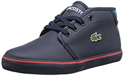 Lacoste Ampthill Chunky ADV Chukka Boot (Toddler/Little Kid/Big Kid), Dark Blue, 8.5 M US Toddler