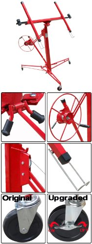 11' 15' Drywall Lift Plasterboard Panel Lifter Red