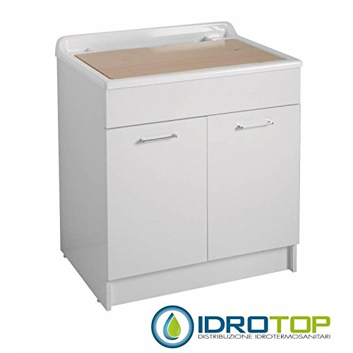 lavoir-lindo-max-75-x-50-avec-lavabo-avec-mobile-sans-panier-a-linge-colavene-blanc