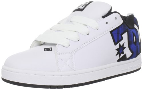 DC - Mens Court Graffik S M Cupsole Shoe, UK: 11 UK, White/Nautical Blue
