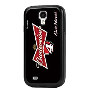 NASCAR Kevin Harvick 4 Budweiser Galaxy S4 Rugged Case by Keyscaper