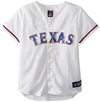 MLB Womens Texas Rangers Home Replica Baseball Jersey