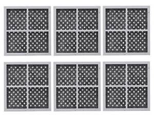 Air Filter Replacement for LG LT120F Kenmore Elite 469918 Refrigerator ADQ73214402, ADQ73214404 - 6 packs (Air Filter Lg Fridge compare prices)