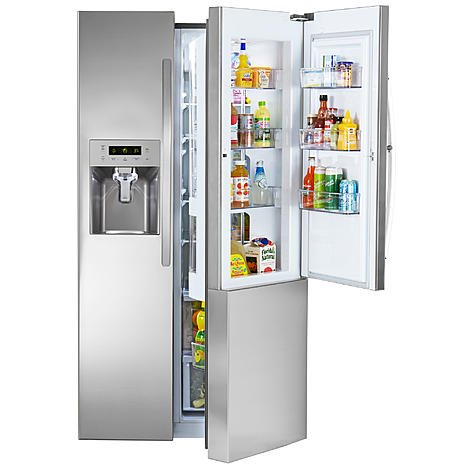Kenmore 51833 26.1 cu. ft. Side-by-Side Refrigerator w/ Grab-N-Go Door (Refrigerator Grab N Go compare prices)