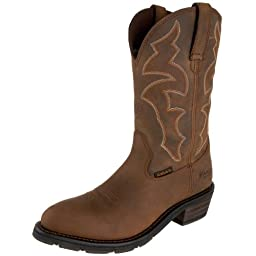 Ariat Men\'s Ironside H2O Work Boot, Dusted Brown, 11.5 W US