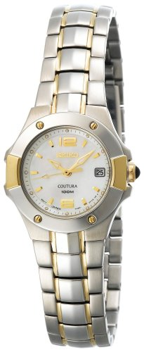 Seiko Women's SXD654 Coutura Two-Tone Watch