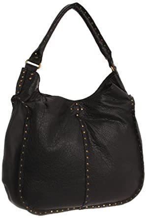 bc0e6bbb03 降价)Linea Pelle Nico Shoulder Bag意大利真皮女士手提单肩包棕色