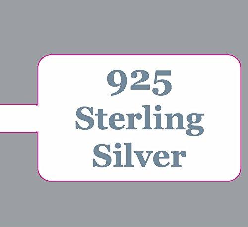 Étiquettes Prix Affichage pour Bijoux Rectangulaire Extra Fort Argent Sterling 925 - Pack de 100