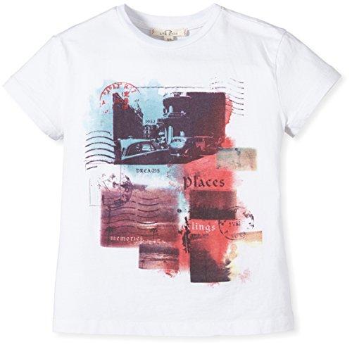 LTB Jeans Jungen T-Shirt INIZOLA T/S, Gr. 176 (Herstellergröße: 15-16 Jahre), Mehrfarbig (WHITE 100)