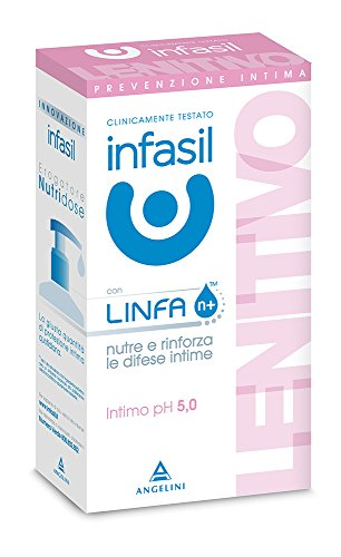 Infasil Angelini - Intimo Ph 5.0, Lenitivo Con Linfa N+, Nutre E Rinforza Le Difese Intime - 200Ml