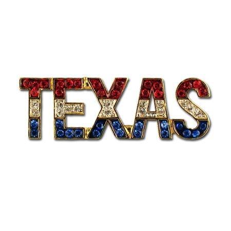 Texas 3 Tone Crystal Pin