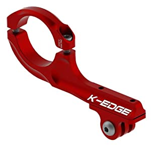 K-EDGE GO BIG Pro Handlebar Mount for GoPro Hero (K13-420 Red)