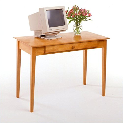 Winsome Wood Computer Desk Honey Furnitures Sale