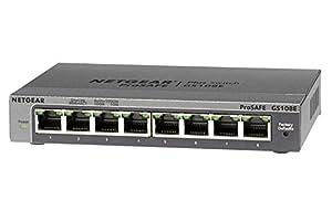 Netgear GS108E-100PES ProSafe Plus 8-Port GigaBit Switch