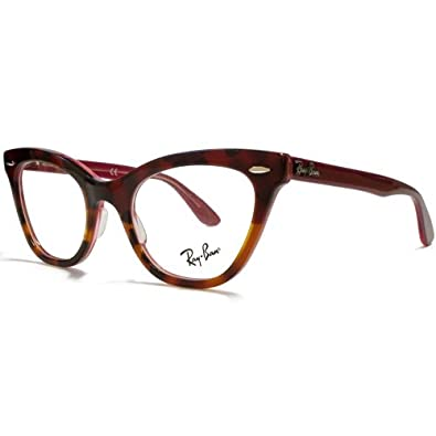 Ray Ban Ladies Glasses Frames : Ray Ban Optical Womens Rx5226 Red Gradient Light Tortoise ...