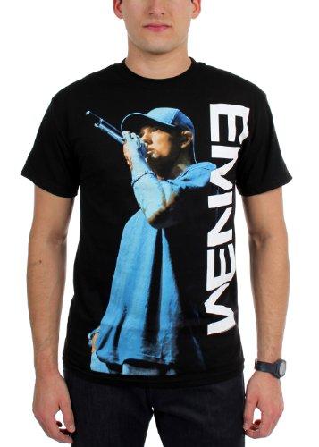Eminem On The Mic Men'S T-Shirt-Medium