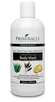 PriMiracle Natural Soothing Moisturizing Body Wash, 12 fl oz