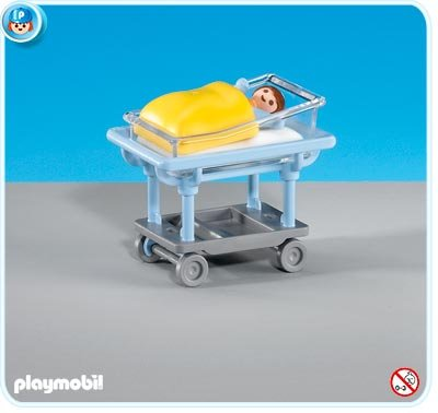 Playmobil Baby in Bed - Buy Playmobil Baby in Bed - Purchase Playmobil Baby in Bed (Playmobil, Toys & Games,Categories,Action Figures,Playsets)