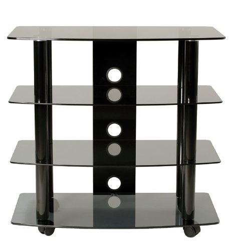 TransDeco High Boy TV Stand with Caster for Up to 35-Inch LED/LCD TV photo B005PZCZ80.jpg