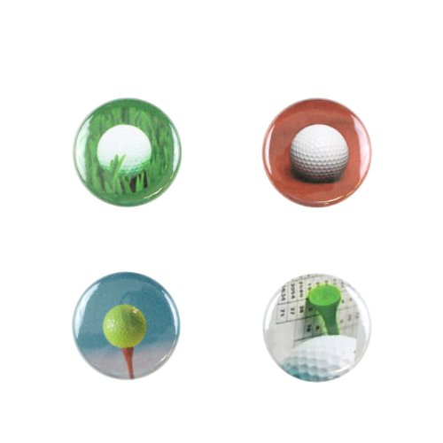 Il Bere C-GOLF-A Wine and Drink Charms Sports Collection - Pin High