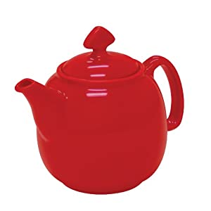 Chantal ceramic 3 cup tea pot small true red teapots teapots - Chantal teapots ...
