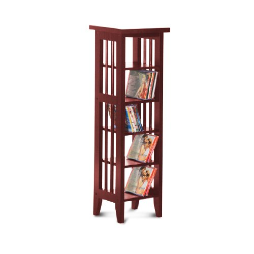 Cherry Finish Book Shelf / Case DVD / CD Rack