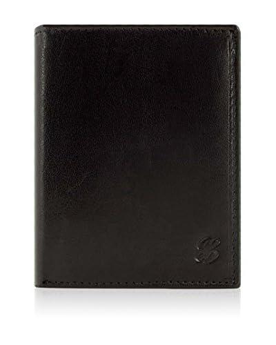 ACQ PIEL Porta Banconote Acq-02320015N [Nero]