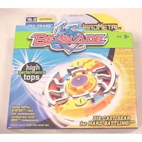 BeyBlade   Sea Drake Defense MA-18 Die Cast   Hard Meta