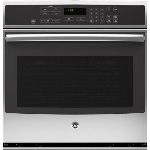 """GE PT7050SFSS Profile 30"""" Stainless Steel Electric Single Wall Oven - Convection"""