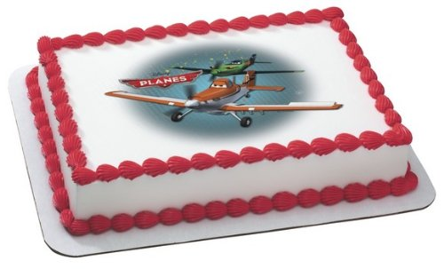 Disney's Planes-Flying High Edible Image Cake Topper - 1