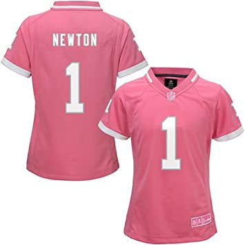 youth carolina panthers cam newton nike black team color game jersey