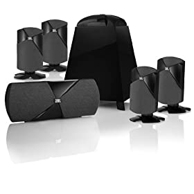 JBL Cinema 300 5.1 Speaker System (Black)