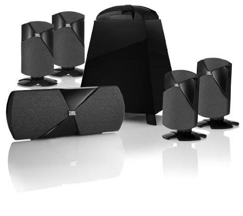 JBL Cinema 300 5.1 Speaker System (Black)