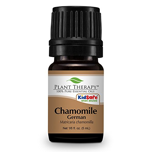 Chamomile German Essential Oil 5 ml (1/6 oz) 100% Pure, Undiluted, Therapeutic Grade.