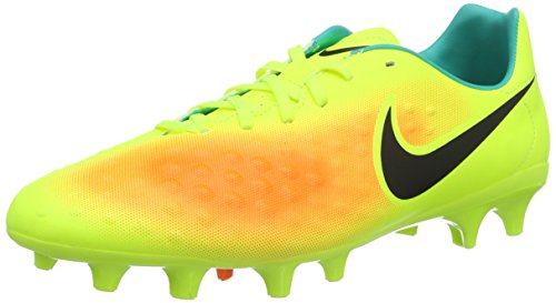 Nike Magista Onda II FG Soccer Cleat (Sz. 8) Volt, Total Orange (Nike Outdoor Ball compare prices)