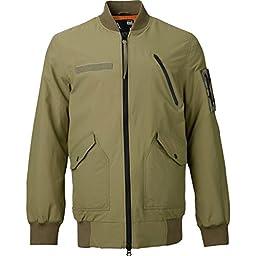Alpha Industries Undefeated x Alpha x Burton MA-1 Jacket, Field Olive Size L