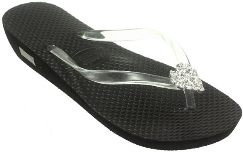 b0c41efe5b041a Special Price at Amazon Click to See Price. Description. Jamie Kreitman  Original Design  Stylish and Flirty Wedge Flip Flops ...