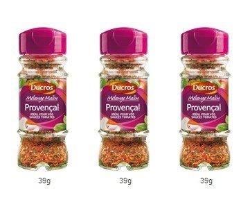 DUCROS - Melanges - Melange en flacons - Melange malin Provencal - 39 g - lot de 3