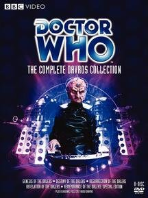 doctor who complete davros collection dvd region 1 us