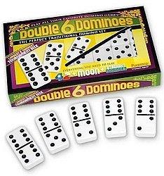 Premium Edition Tournament Size Color Dominoes