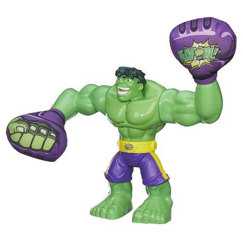 Playskool Heroes Marvel Super Hero Adventures Smash Action Hulk Figure front-822054