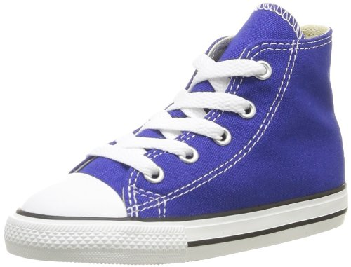 CONVERSE Unisex-Child Chuck Taylor All Star Season Hi Trainers 015850-31-123 Blue Radio 12 UK, 30 EU