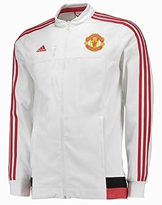 Men's Manchester United Anthem Jacket 2015-2016 White