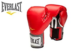 EVERLAST PRO STYLE TRAINING GLOVES-RED