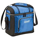 Coleman 16-Can Soft Cooler With Hard Liner, Blue