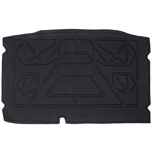 Elegant Magic Black Rear Boot Mat for Hyundai i20 Elite (2014)