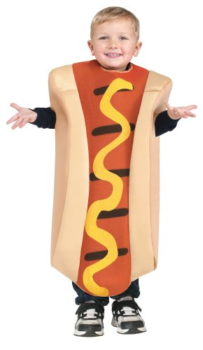 Toddler Hot Dog Costume Size 3T-4T
