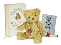 Herman teddy bear Henry NTT Brown 28cm (japan import) from Herman teddy bear