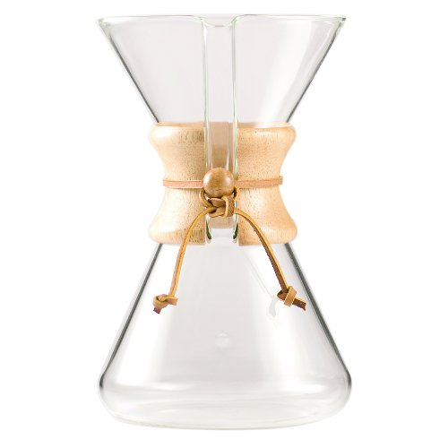 Chemex Coffee Maker CM-3: 8 Cup Device To Create Coffee How It Was Always Meant to Be